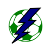 Lightning Soccer Ball/small Clip Art