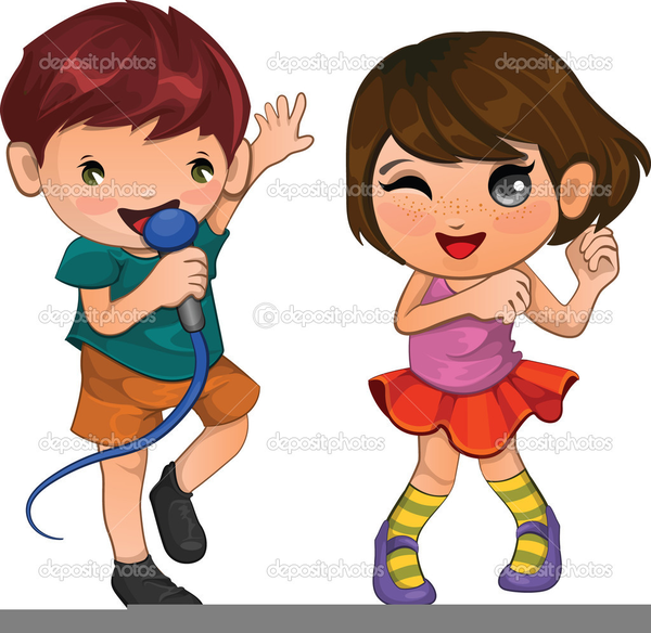clipart singing and dancing free images at clkercom