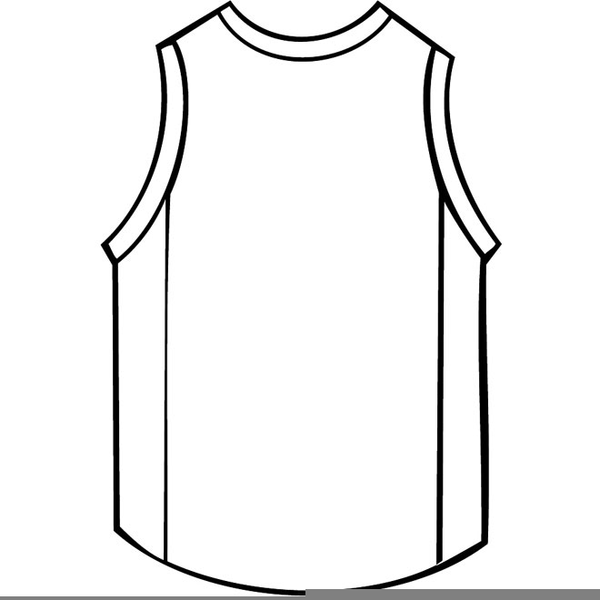 1f59a02a5ad Basketball Jersey Clipart | Free Images at Clker.com - vector clip ...