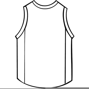 basketball jersey clipart free images at clker com vector clip rh clker com basketball jersey design clipart baseball jersey clip art