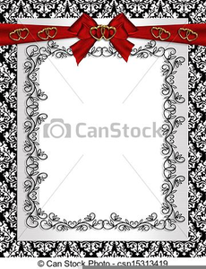 Free Scroll Clipart For Wedding Invitations Image