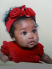 Beautiful Black Baby Image