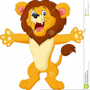 Lion animated. Clipart free images at