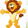Animated Lion Clipart Image