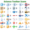 Science Toolbar Icons Image