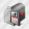 Icon Mail Box Save Image