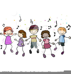 Free Disco Dancing Clipart Image