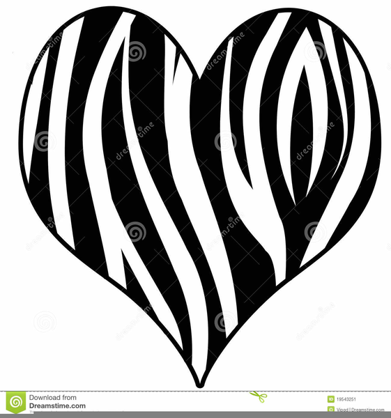 zebra print heart clipart free images at clker com vector clip rh clker com zebra print clip art borders zebra print clip art black and white