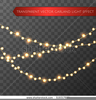Christmas Lights Clipart Vector Image