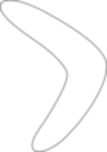 Simple Boomerang Pattern Image