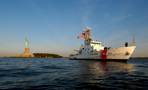 The Coast Guard Cutter Bainbridge Island Image
