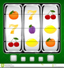 Clipart Fruits Slot Game Image