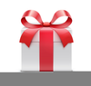 Christmas Gift Giving Clipart Image