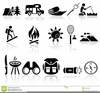 Free Camping Icons And Clipart Image