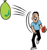 Water Balloon Throw Clip Art