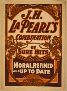J.h. La Pearl S Combination Of Sure Hits Moral, Refined, And Up To Date. Image