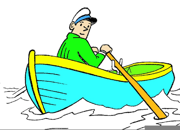 row row row your boat clipart free images at clker com vector rh clker com row boat clipart black and white cartoon row boat clipart