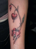 Bleeding Hearts Tattoo Image