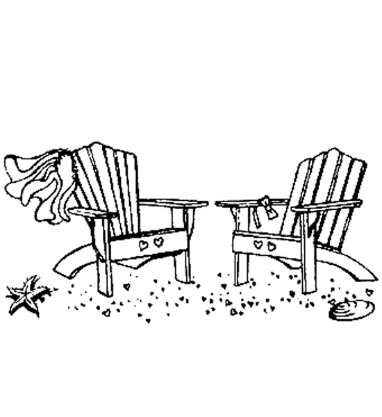 Wedding Beach Chairs Free Images At Clker Com Vector
