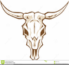 Cow Skulls Clipart Image
