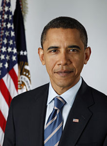 Px Official Portrait Of Barack Obama Image