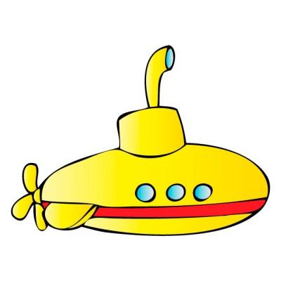 Cute Submarine Clipart Yellow Submarine Clipart