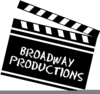 Broadway Shows Clipart Image