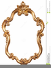 Antique Picture Frame Clipart Image