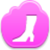 Free Pink Cloud High Boot Image