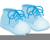 Baby Boy Bottle Clipart Image