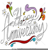 Clipart Of Happy Anniversary Image