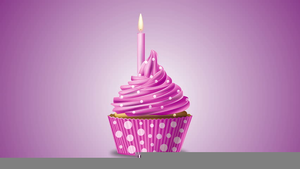 Sparkling Happy Birthday Clipart Image