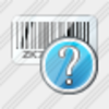 Icon Bar Code Question Image