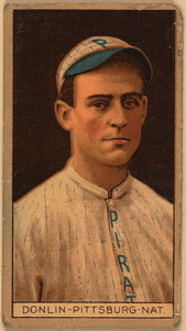 [mike Donlin, Pittsburgh Pirates, Baseball Card Portrait] Image