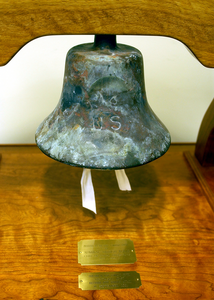 A Bell Donated By The Late Adm. Arleigh Burke Was Recovered From The Rubble After The Sept. 11, 2001 Attack On The Pentagon. Image