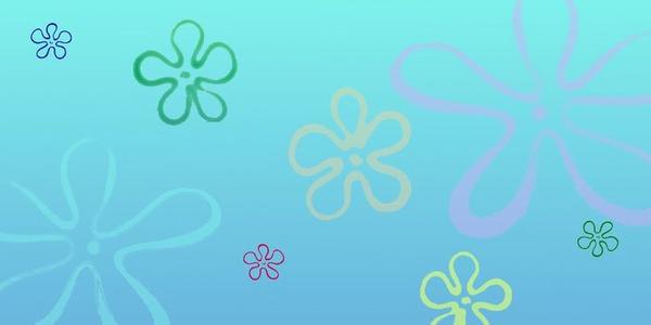 spongebob ocean background