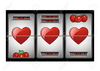 Slot Machine Cherries Clipart Image