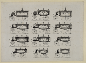 [funeral Cars Nos. 1-12] Image
