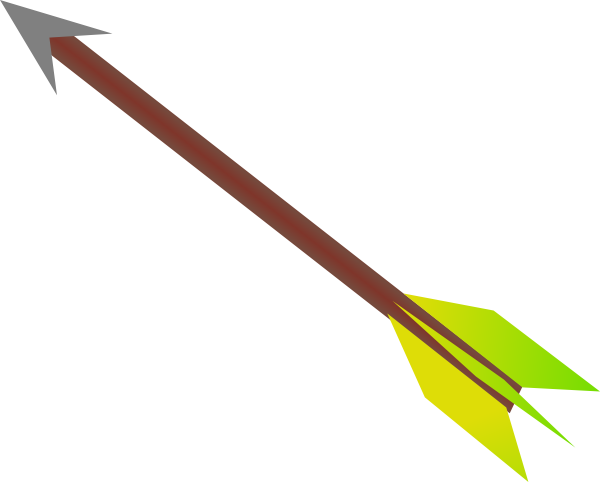 Flying Arrow Clip Art At Clkercom Vector Online Royalty