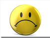 Free Clipart Images Sad Face Image