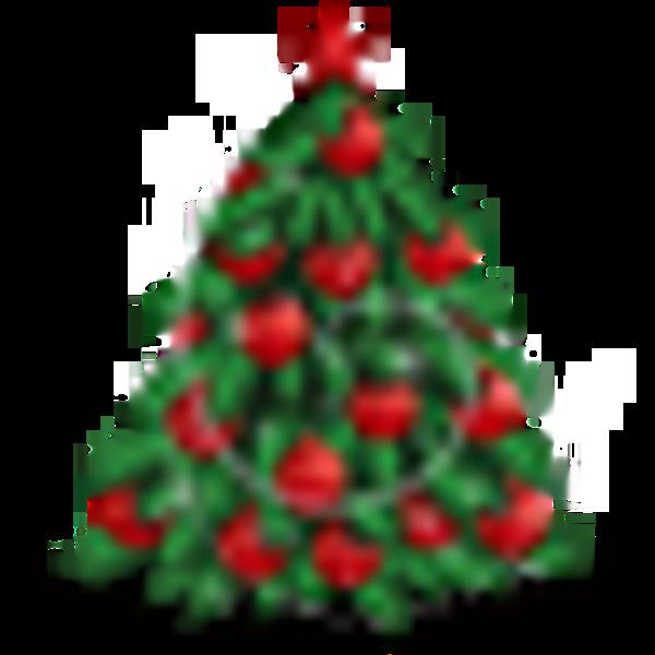 large christmas tree clip art free - photo #42