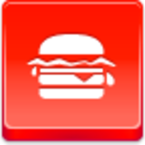Free Red Button Icons Hamburger Image
