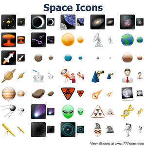 Space Icons Image