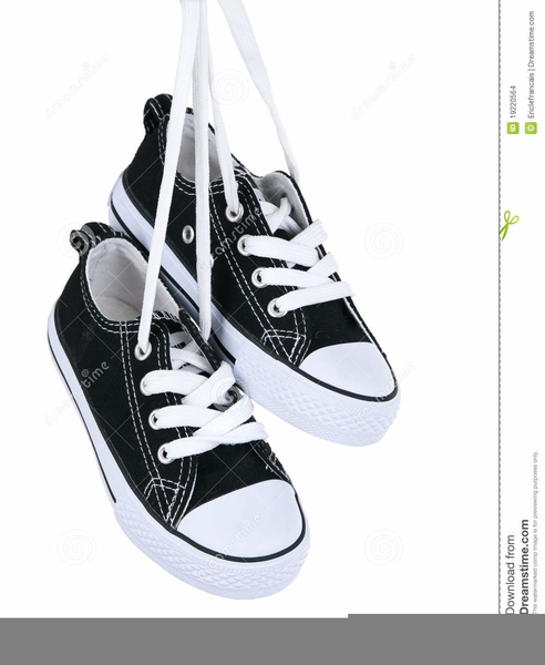 Hanging Running Shoes Clipart Free Images At Clkercom Vector