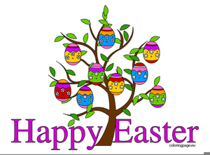 Happy Easter Clipart | Free Images at Clker.com - vector ...
