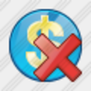 Icon Company Business Delete Image