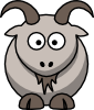 Cartoon Goat Clip Art