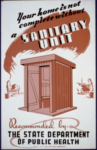 Your Home Is Not Complete Without A Sanitary Unit, Recommended By The State Department Of Public Health Image
