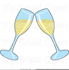 Clipart Of Champagne Glasses Toasting Image