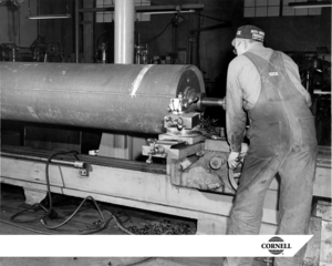 Shaft With Shaving Cornell Pump Company Image